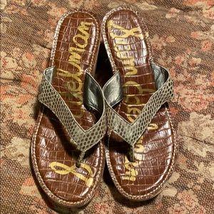 Sam Edelman wedge shoes